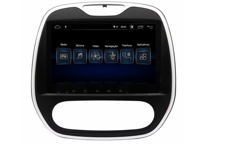 Multimidia Smart Nav Tela 9´´ - Cd Dvd Multimidia - renau