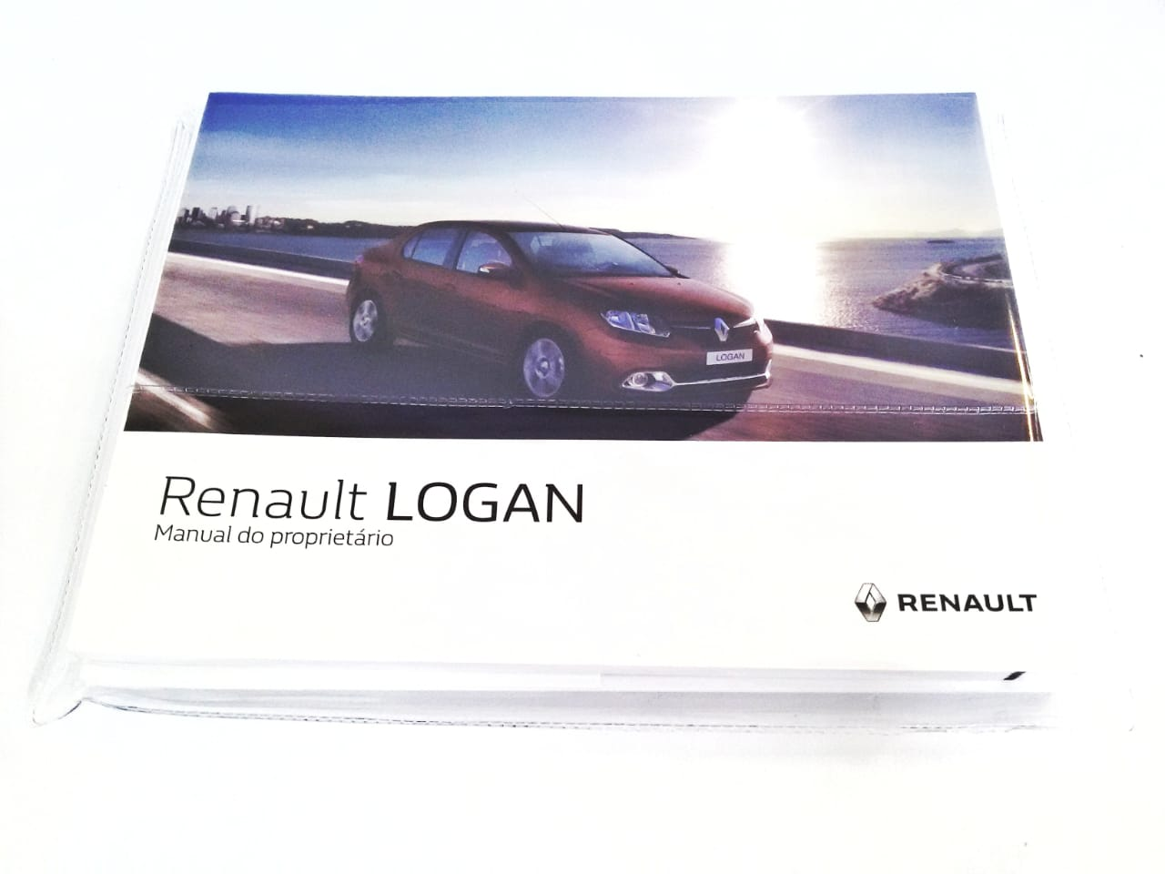 Kit Manual do Proprietario - Kit Manual do Proprietario - Kit - <b>renault Novo Logan de 2016 Até 2018</b> - Sku: 969247928r